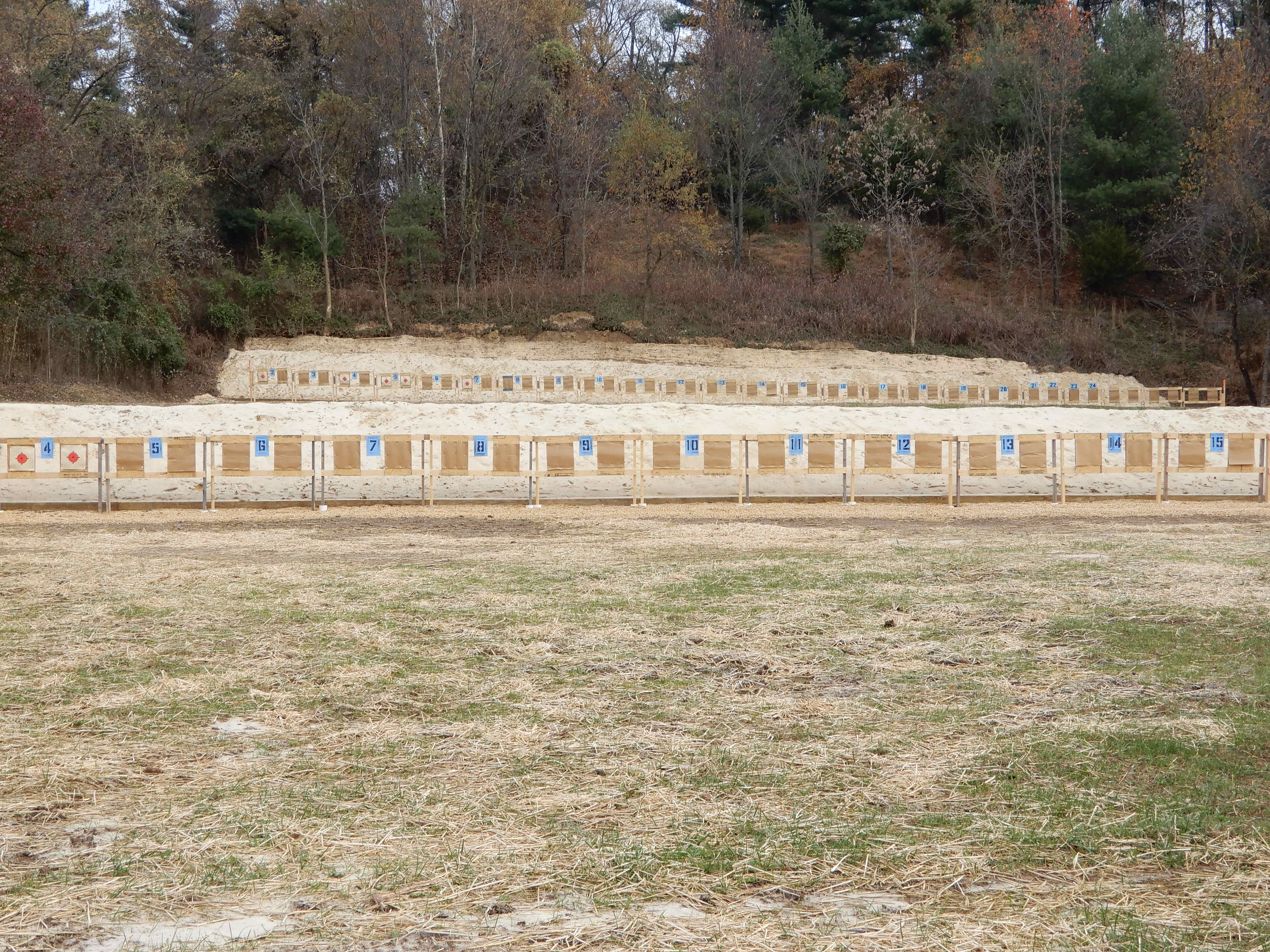 50 and 100 Yard Rifle Targets