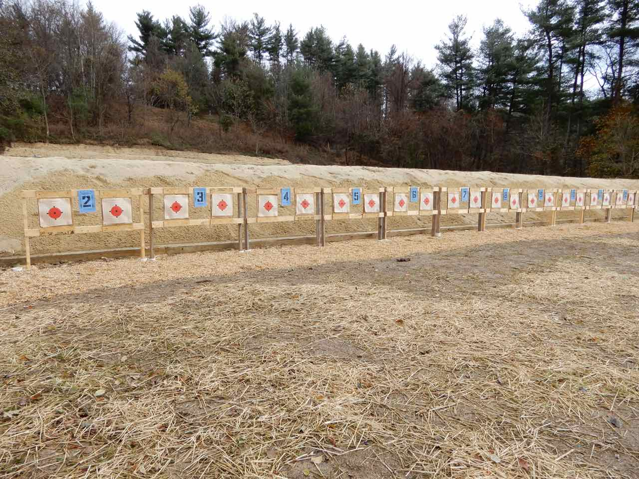 50 Yard Rifle Line